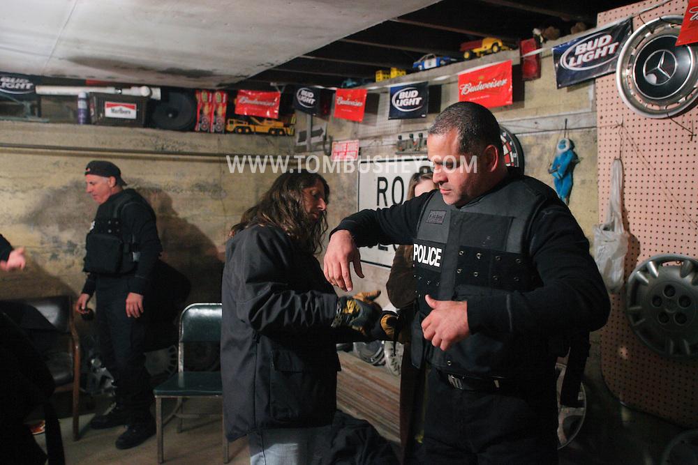 "Goshen, NY - The feature movie ""Collar"" films on location in Goshen on Sunday, Oct. 11, 2009."
