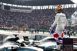 October 29, 2017 - Mexico-City, Mexico - Motorsports: FIA Formula One World Championship 2017, Grand Prix of Mexico, .#44 Lewis Hamilton (GBR, Mercedes AMG Petronas F1 Team) (Credit Image: © Hoch Zwei via ZUMA Wire)