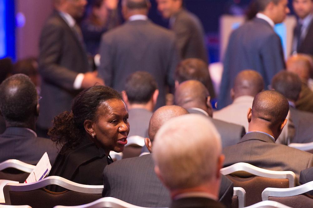 Daphne Mashile-Nkosi , PDG de Kalagadi Manganese, le 16 mars 2015, Africa Ceo Forum 2015