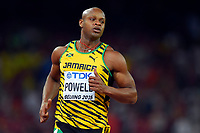 Asafa Powell (JAM) competes in 100 Metres Men during the IAAF World Championships, Beijing 2015, at the National Stadium, in Beijing, China, Day 1, on August 22, 2015 - Photo Julien Crosnier / KMSP / DPPI