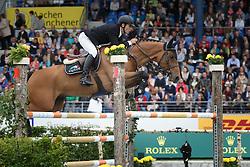 Alvarez Aznar Eduardo, (ESP), Rokfeller de Pleville Bois Margot<br /> Rolex Grand Prix, The Grand Prix of Aachen<br /> Weltfest des Pferdesports Aachen 2015<br /> © Hippo Foto - Dirk Caremans<br /> 31/05/15