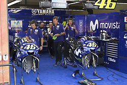June 3, 2018 - Mugello, Italy, Italy - Box Yamaha during Race MotoGP  at the Mugello International Cuircuit for the sixth round of MotoGP World Championship Gran Premio d'Italia Oakley on June 3, 2018 in Scarperia, Italy  (Credit Image: © Fabio Averna/NurPhoto via ZUMA Press)