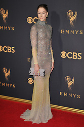 Amanda Crew at the 69th Annual Emmy Awards held at the Microsoft Theater on September 17, 2017 in Los Angeles, CA, USA (Photo by Sthanlee B. Mirador/Sipa USA)