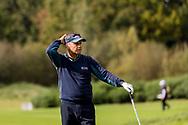 08-10-2017 - Foto van de finaledag van de Dutch Masters 2017, een European Senior Tour Event. Gespeeld op The Dutch in Spijk van 6 t/m 8 oktober.  Mark Davis