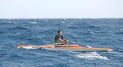 San Remo, ITALY,  Qualification Races, men's singel sculls M1X,  rowing on the open sea.  2008 FISA Coastal World Championships. Friday 17/10/2008. [Photo, Peter Spurrier/Intersport-images] Coastal Rowing Course: San Remo Beach, San Remo, ITALY