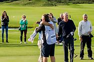 08-10-2017 - Foto van de finaledag van de Dutch Masters 2017, een European Senior Tour Event. Gespeeld op The Dutch in Spijk van 6 t/m 8 oktober.  Clark Dennis