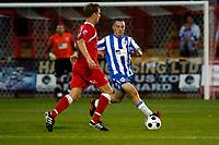 Sam Sheridan. Kidderminster Harriers FC 1-1 Stockport County. Blue Square Bet Premier. 23.8.11