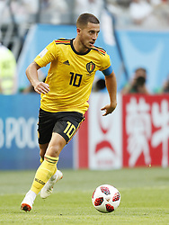 Eden Hazard of Belgium during the 2018 FIFA World Cup Play-off for third place match between Belgium and England at the Saint Petersburg Stadium on June 26, 2018 in Saint Petersburg, Russia