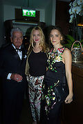 NICKY HASLAM; MARIA VON THURN UND TAXIS; BEATA HEUMAN,  Nicky Haslam hosts dinner at  Gigi's for Leslie Caron. 22 Woodstock St. London. W1C 2AR. 25 March 2015