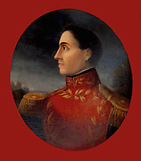 José Francisco de San Martín Matorras,  1778 –  1850,  Argentine general. A key leader of the movement fr independence in South America rom Spanish rule.