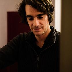 Marc Riou, illustrator. Paris, France. 14 November 2009. Photo: Antoine Doyen