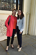 HELEN MEENAN; DEIRDRE ARCULUS, The Arthur Cox Irish Fashion Showcase 2015,  Irish based designers chosen to be part of this year's Arthur Cox Irish Fashion Showcases The Mall Galleries, London. 13 May 2015.