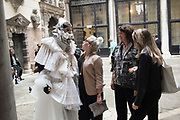 LINA CONDES, EXTRATERRESTRIAL ODYSSEY  with special participation by Daniel Lismore, Palazzo Pisani, Conservatorio di Musica Benedetto Marcello, near Accademia bridge, Venice Biennale,  Venice, Friday 12  May 2017
