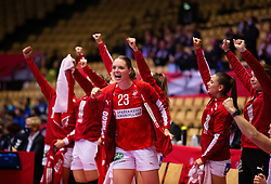 HERNING, DENMARK - DECEMBER 4: Kristina Jørgensen during the EHF Euro 2020 Group A match between Denmark and Slovenia in Jyske Bank Boxen, Herning, Denmark on December 4, 2020. Photo Credit: Allan Jensen/EVENTMEDIA.