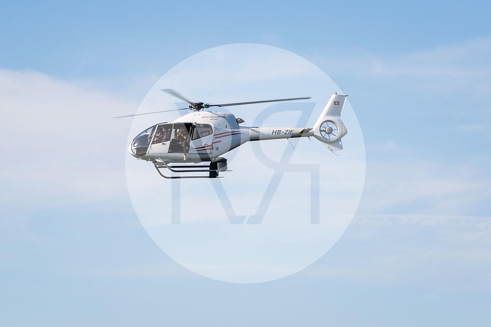 SCHWEIZ - WABERN - Helikopter der Firma 'swiss helicopter AG', Typ Colibri H120 (EC 120 B) mit dem Luftfahrzeugkennzeichen HB-ZIE - 12. Juli 2018 © Raphael Hünerfauth - http://huenerfauth.ch