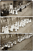 church street procession 1900s