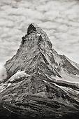 Mountains Black and White