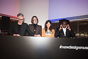 JARVIS COCKER; BELLA FREUD; NEVILLE HYDE, Alexandra Shulman, Sir Terence Conran and Deyan Sudjic co -host the opening party of the new Design Museum  in the former Commonwealth Institute pavilion, High Street Kensington London. 22 November 2016.