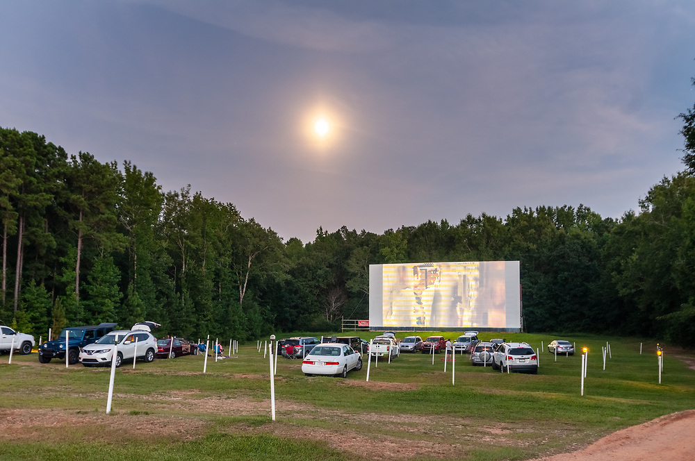 Highway 25 Auto Drive-In Theater in Greenwood, South Carolina on Saturday, August 1, 2020. Copyright 2020 Jason Barnette
