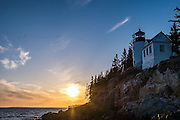 The next sunset stop was the Bass Harbor Lighthouse, which is an iconic lighthouse within the park.