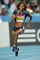 ATHLETICS - IAAF WORLD CHAMPIONSHIPS 2011 - DAEGU (KOR) - DAY 1 - 27/08/2011 - PHOTO : STEPHANE KEMPINAIRE / KMSP / DPPI - <br /> 400 M - WOMEN - HEAT - SANYA RICHARDS-ROSS (USA)