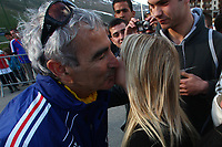 FOOTBALL - MISCS - WORLD CUP 2010 - TIGNES (FRANCE) - FRANCE TEAM TRAINING - 22/05/2010 - PHOTO ERIC BRETAGNON / DPPI - RAYMOND DOMENECH /FAN