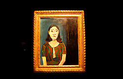 NV: Las Vegas, Nevada, Pablo Picasso, portrait of Dora Maar, oil on panel, October 9, 1942, fine art in the lobby museum, Bellagio Hotel and Casino, Photo: nvvg99103,  .Photo copyright: Lee Foster, www.fostertravel.com, 510-549-2202, lee@fostertravel.com