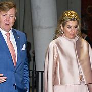LUX/Luxemburg/20180523 - Staatsbezoek Luxemburg dag 2,   Koning Willem Alexander en Koningin Maxima