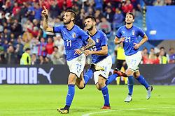 GOAL VITTORIO PARIGINI<br /> CALCIO AMICHEVOLE ITALIA - MAROCCO U21