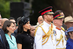 The Duke and Duchess of Sussex attend the opening of the Anzac Memorial in Hyde Park, Sydney, on the fifth day of the royal couple's visit to Australia.