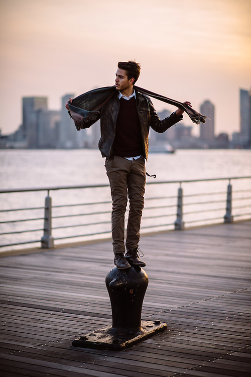 Lifestyle photoshoot with Adam Gallagher in New York City