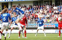 Fotball tippeligaen 23.06.05 - Molde - Brann<br /> Petter Rudi setter inn 2-0<br /> Foto: Carl-Erik Eriksson, Digitalsport