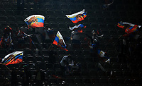 Fotball<br /> Tyskland v Russland<br /> Foto: Witters/Digitalsport<br /> NORWAY ONLY<br /> <br /> 11.10.2008<br /> <br /> Fans Russland<br /> Fussball WM Qualifikation Deutschland - Russland 2:1