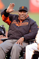 January 18 2017 - File - Among the other 208 people whose sentences Obama commuted San Francisco Giants legend (and cove namesake) WILLIE MCCOVEY. In 1995, McCovey was convicted of avoiding taxes on 0,000 worth of income that he made signing autographs and participating in memorabilia shows. Fellow Hall of Famer Duke Snider was also convicted in the case, and McCovey got two years probation and a ,000 fine. Pictured: May 6, 2011 - San Francisco, California, U.S - Former Giants star Willie McCovey during the 80th birthday celebration for Giants' great Willie Mays before the MLB game between the San Francisco Giants and the Colorado Rockies at AT&T Park in San Francisco, CA.  The Giants won 4-3. (Credit Image: © Matt Cohen/SCG/ZUMAPRESS.com)