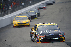 July 22, 2018 - Loudon, New Hampshire, United States of America - Matt DiBenedetto (32) battles for position during the Foxwoods Resort Casino 301 at New Hampshire Motor Speedway in Loudon, New Hampshire. (Credit Image: © Justin R. Noe Asp Inc/ASP via ZUMA Wire)