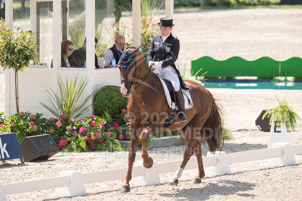 Charlott-Maria Schurmann (GER) & Burlington FRH - Dressage Grand Prix - CDIO5 - CHIO Rotterdam 2016 - Kralingse Bos, Rotterdam, Netherlands - 23 June 2016
