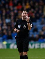 Football - 2019 / 2020 Premier League - Burnley vs. Arsenal<br /> <br /> Referee Chris Kavanagh, at Turf Moor.<br /> <br /> <br /> COLORSPORT/ALAN MARTIN