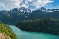 Colonial Peak and Pyramid Peak, North Cascades, Ross Lake National Recreation Area, North Cascades Washington