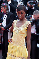 Leomie Anderson at the Yomeddine gala screening at the 71st Cannes Film Festival, Wednesday 9th May 2018, Cannes, France. Photo credit: Doreen Kennedy