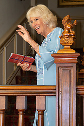 Her Royal Highness Camilla the Duchess of Cornwall hosts a reception at Clarence House to mark the tenth anniversary of First story, an initiative to encourage writing in especially among those from deprived backgrounds in schools across the country. London, July 10 2018.