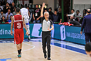 DESCRIZIONE : Campionato 2014/15 Dinamo Banco di Sardegna Sassari - Openjobmetis Varese<br /> GIOCATORE : Roberto Chiari<br /> CATEGORIA : Time Out Arbitro Referee<br /> SQUADRA : AIAP<br /> EVENTO : LegaBasket Serie A Beko 2014/2015<br /> GARA : Dinamo Banco di Sardegna Sassari - Openjobmetis Varese<br /> DATA : 19/04/2015<br /> SPORT : Pallacanestro <br /> AUTORE : Agenzia Ciamillo-Castoria/L.Canu<br /> Predefinita :