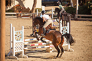 Horse Jumping at Nellie Gail Ranch Equestrian Center