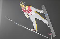 February 10, 2018 - Pyeonchang, Gangwon, South Korea - Alexey Romashov ofNew Zealand at mens normal hill final at 2018 Pyeongchang winter olympics at Alpensia Ski Jumping Centre, Pyeongchang, South Korea on February 10, 2018. Ulrik Pedersen/Nurphoto  (Credit Image: © Ulrik Pedersen/NurPhoto via ZUMA Press)