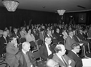 07/11/1982<br /> 11/07/1982<br /> 07 November 1982<br /> Fitzwilton Limited, Annual General Meeting at the Berkeley Court Hotel, Dublin. Picture shows a general view of part of the attendance at the meeting.