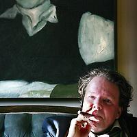 Nederland,Amsterdam ,8 november 2007..Schrijver Geerten Meising..Writer Geerten Meising.