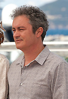 Director Jean-Marie Larrieu at the Cinefondation and Short Films Jury photo call at the 69th Cannes Film Festival Thursday 19th May 2016, Cannes, France. Photography: Doreen Kennedy