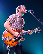 COLUMBIA, MD, -September 10th, 2011 - The Black Keys were one of the few guitar-based rock bands at the 2011 Virgin Mobile FreeFest. (Photo by Kyle Gustafson/FTWP).