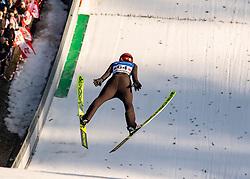 09.02.2020, Energie AG Skisprung Arena, Hinzenbach, AUT, FIS Weltcup Ski Sprung, Damen, im Bild Maren Lundby (NOR) // during her jump for the women's FIS Ski Jumping World Cup at the Energie AG Skisprung Arena in Hinzenbach, Austria on 2020/02/09. EXPA Pictures © 2020, PhotoCredit: EXPA/ Reinhard Eisenbauer