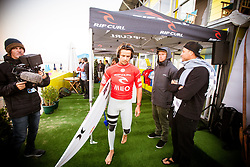 October 25, 2017 - Julian Wilson (AUS) is the Runner-up of the Final at MEO Rip Curl Pro Portugal 2017 in Peniche, Portugal..MEO Rip Curl Pro Portugal 2017 - 25 Oct 2017 (Credit Image: © Rex Shutterstock via ZUMA Press)