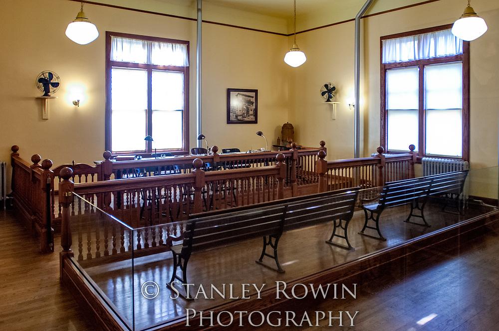 Hearing Room, Ellis Island